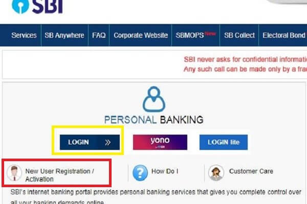 How To Register Online For Sbi Net Banking | State Bank Of India Net Banking Registration Process Online