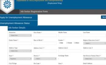 Madhya Pradesh Unemployment Allowance Scheme | Apply Online | Application form