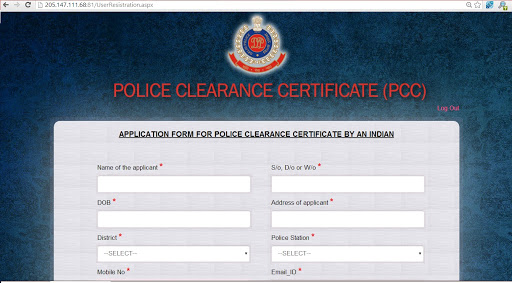 How to Fill Police Verification Application Form Online