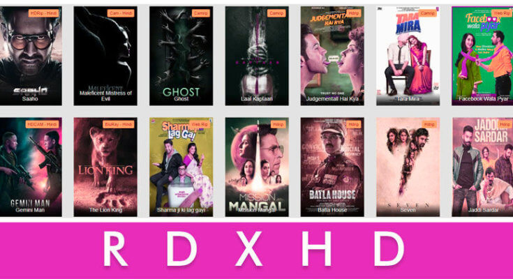 RdxHD 2020 Website- Bollywood, Hollywood, Punjabi All New Movies Download!