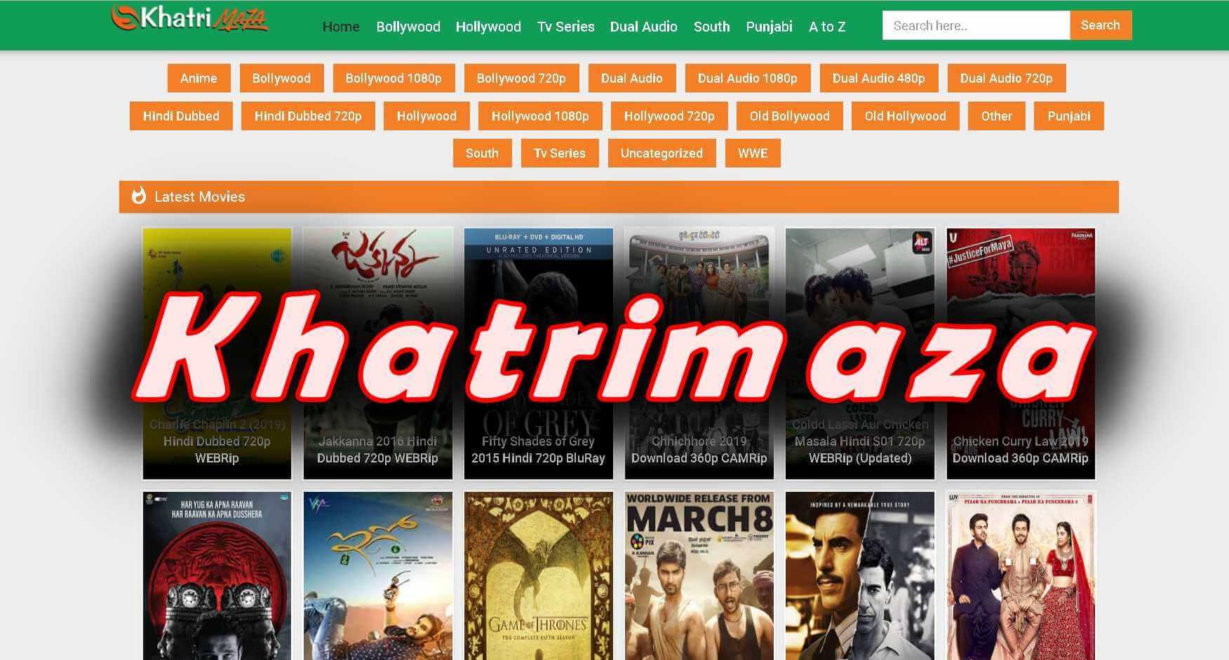 Khatrimaza 2020- 300MB Full HD Bollywood Movies Download Free -