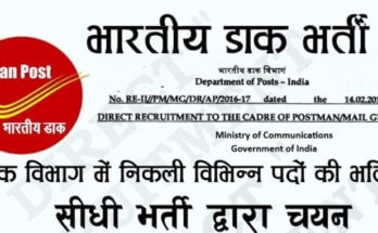 Gramin Dak Sevak Recruitment 2020 | India Post GDS Recruitment (10066 Vacancy), Online Application Form