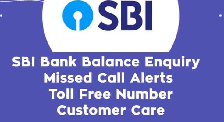 SBI Miss Call Registration Number | All Missed Call Balance | All Bank Balance Check