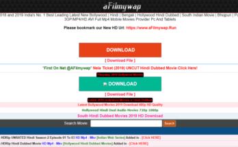 afilmywap movie download site