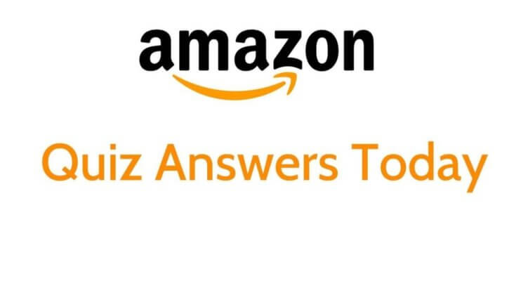 Amazon Quiz Contest Answers of Today's Question