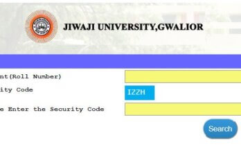 Jiwaji University Gwalior Result 2020 | Jiwaji University Result 2020 | jiwaji.mponline.gov.in
