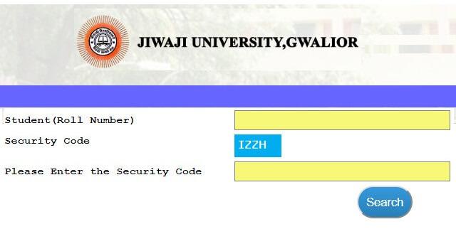 Jiwaji University Gwalior Result 2020 | Jiwaji University Result 2020 | jiwaji.mponline.gov.in