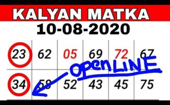 What will come in Kalyan Matka(कल्याण मटका)today? How does Kalyan Matka play?