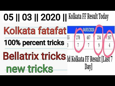 Kolkata FF Fatafat Result – TODAY LIVE | Kolkata Tatafat Tips | Live Result